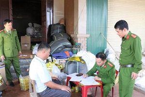 Phát hiện 'lò' làm giả trà xanh Tân Cương Thái Nguyên ở Hà Tĩnh
