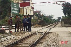 Hà Tĩnh có 101 điểm giao cắt với đường sắt không được cấp phép