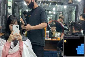 Bạch Lan Phương đi làm tóc, Huỳnh Anh đòi mang cơm ra tận salon ngồi ăn và chờ đón về