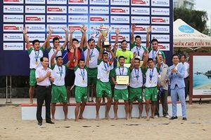 Đà Nẵng lên ngôi vô địch Giải bóng đá bãi biển toàn quốc