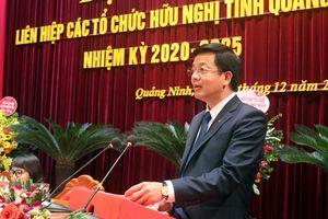 Đại hội đại biểu Liên hiệp các tổ chức hữu nghị tỉnh Quảng Ninh lần thứ V, nhiệm kỳ 2020-2025