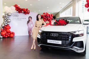 Ca sĩ Lệ Quyên trở thành một trong những khách hàng đầu tiên tại Việt Nam nhận xe Audi Q8