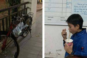 CSGT giúp bé trai đạp xe lạc gần 100km trên cao tốc lúc nửa đêm