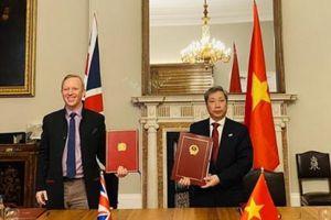 Việt Nam - Anh ký hiệp định thương mại tự do