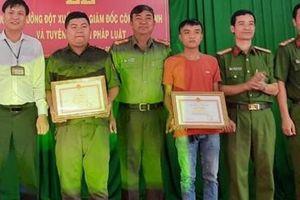 Khen thưởng nhiều cá nhân có thành tích bắt tội phạm