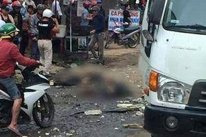 Xe tải mất lái đâm 5 ô tô đỗ bên lề đường, hai thiếu nữ tử vong