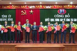 Quảng Bình: Bổ nhiệm và điều động nhiều lãnh đạo Sở