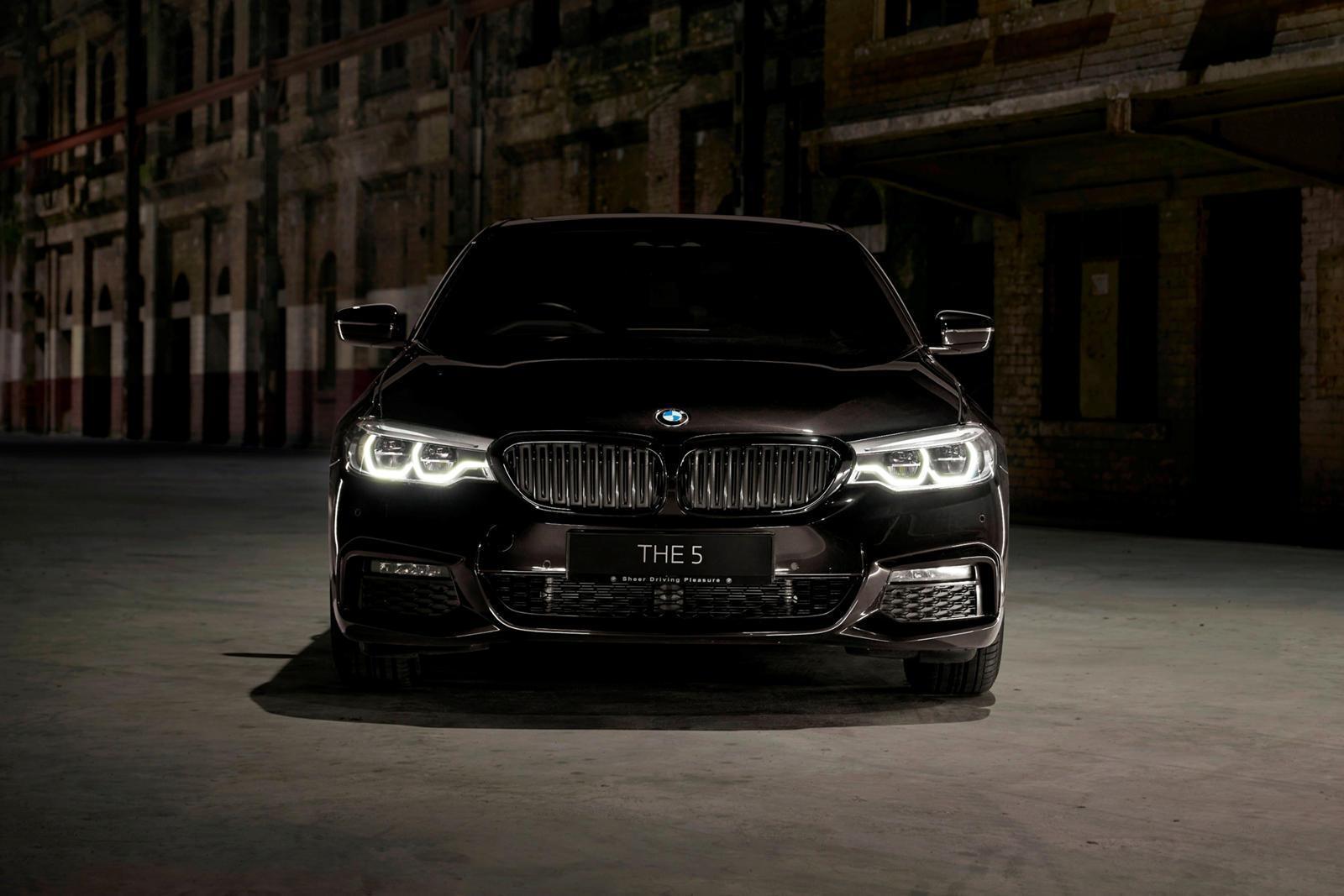 BMW 5 series phiên bản Dark Shadow Edition siêu 'ngầu'