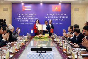 Nâng kim ngạch thương mại song phương Việt Nam - Cuba lên mức 500 triệu USD