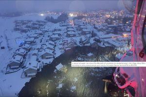 26 người mất tích trong vụ lở đất tại Na Uy