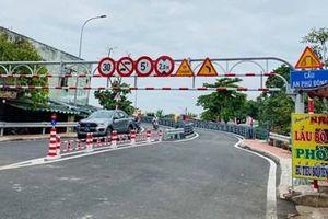 TP Hồ Chí Minh thông xe cầu vượt thép An Phú Đông bắc qua sông Vàm Thuật