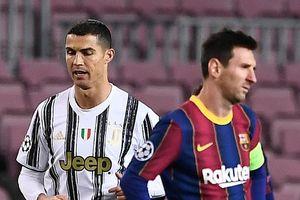 So sánh Ronaldo và Messi trong năm 2020