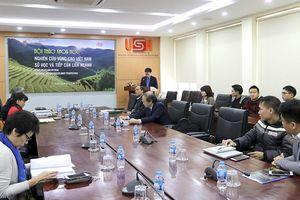 Nghiên cứu vùng cao Việt Nam từ sử học và tiếp cận liên ngành