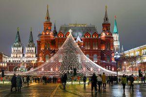 Nước Nga trang hoàng lộng lẫy đón năm mới 2021
