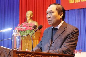 Bám sát các khâu đột phá, sớm đưa Can Lộc trở thành huyện nông thôn mới nâng cao