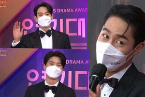 Thảm đỏ 'KBS Drama Awards 2020': Kim Young Dae, Seo Ji Hoon và Lee Jae Wook cực điển trai