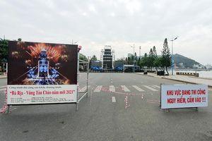 TP. Vũng Tàu: Cấm phương tiện giao thông lưu thông tại một số tuyến đường từ 18 giờ ngày 31/12