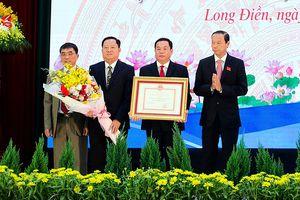 Huyện Long Điền đạt chuẩn nông thôn mới