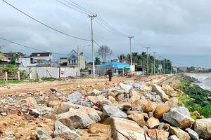Người dân Sa Huỳnh mong có kè chắn sóng kiên cố