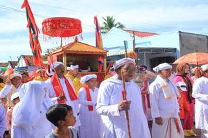 Độc đáo lễ hội Cambur đồng bào Chăm Bình Thuận