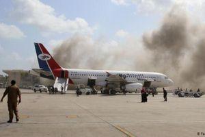 Phiến quân Houthi phủ nhận gây ra vụ tấn công kinh hoàng ở sân bay Aden