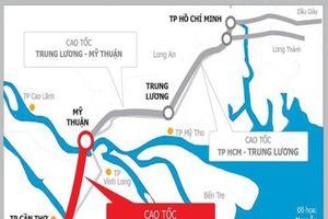 Cao tốc Mỹ Thuận – Cần Thơ khởi công vào ngày 4-1