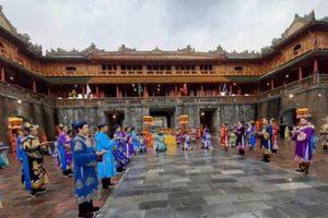 Tái hiện nghi lễ phát lịch thời triều Nguyễn