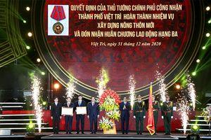 Phú Thọ đón năm mới 2021 và công bố các quyết định quan trọng