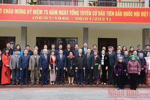 Kỷ niệm 75 năm Ngày Tổng tuyển cử tại Yên Bái