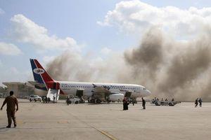 Tấn công tên lửa đẫm máu tại Sân bay Aden- Yemen: Số lượng thương vong lên tới 135 người