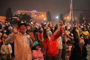 Người dân thành phố Thủ Đức hân hoan với màn pháo hoa chào năm mới