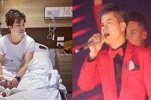 Đinh Mạnh Ninh kiệt sức nhập viện nhưng vẫn đi diễn giao thừa chung vui với khán giả