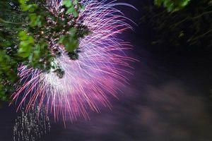 Người dân vỡ òa cảm xúc trước màn pháo hoa chào năm mới 2021
