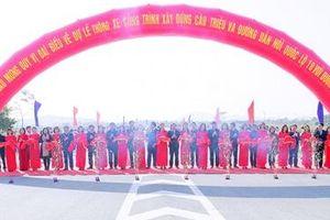 Thông xe kỹ thuật cầu Triều hơn 400 tỷ đồng kết nối Quảng Ninh và Hải Dương