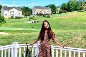 Ngôi nhà sở hữu tầm nhìn ra cánh đồng xanh tươi trong lành của mẹ Việt ở Mỹ