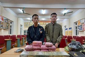 Bắt ba đối tượng thu giữ 12 bánh heroin, 54.000 viên ma túy