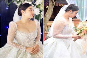 Lộ nhan sắc thật trong ngày cưới, vợ 'Dũng 4' gây chú ý