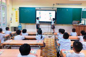 Thực hiện CTSGK mới: Năng lực, phẩm chất học sinh lớp 1 được phát huy
