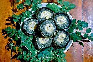 Bánh tét chùm ngây - Tài hoa của người Cồn Sơn
