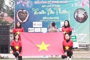 Khai mạc giải bóng đá Xuân Yêu Thương lần thứ III tranh Cup Nghệ An 24h