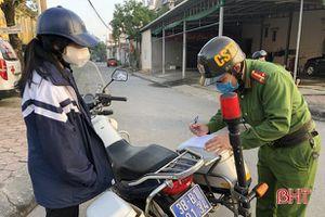 905 học sinh ở TP Hà Tĩnh vi phạm ATGT bị nhắc nhở, xử phạt