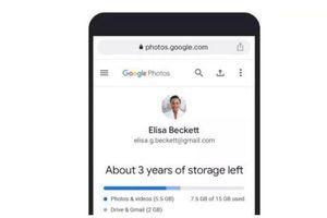 Hướng dẫn kiểm tra dung lượng bộ nhớ còn lại trên Google Photos