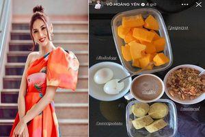 'Đầu bếp riêng' cực xịn nấu đồ ăn giữ dáng cho Võ Hoàng Yến