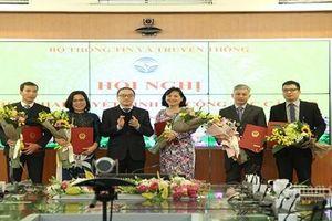 Bộ Thông tin - Truyền thông, Bộ Giáo dục - Đào tạo, Tập đoàn EVN bổ nhiệm lãnh đạo mới