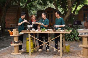 Hồng Thanh giành ăn với Nam Thư trong Ẩm thực kỳ thú