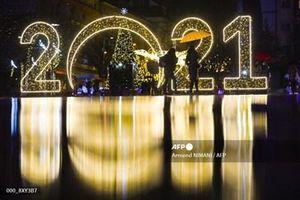 Thế giới hân hoan chào đón năm mới 2021