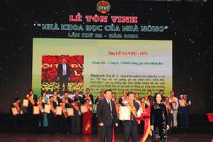 Anh hùng lao động Lê Văn Dư được tôn vinh Nhà Khoa học của nhà nông