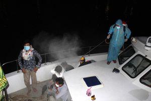 Chi 350USD cho đối tượng ở Campuchia để được về Việt Nam bằng đường biển