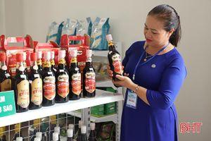 Hà Tĩnh ghi danh sản phẩm tiêu biểu khu vực, tạo chỗ đứng trên thị trường toàn quốc