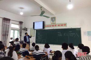 Huyện vùng biển Hà Tĩnh chủ động thực hiện chương trình giáo dục phổ thông mới